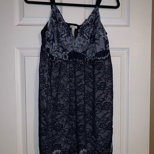 Beautiful blue lace nightgown